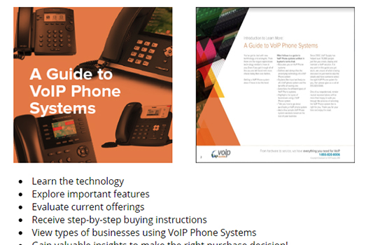Five helpful VoIP guides for your Business